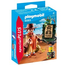 Cowboy med Efterlyst-affisch, Playmobil SpecialPLUS (9083)