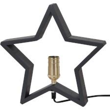 Star Trading Stjärna Lysekil E14 30x6x29 cm Grafitgrå