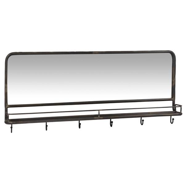Ib Laursen Spegel Metall B  100 5 cm D  16 5 cm B  43 5 cm Svart  IB Laursen