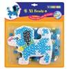 Rörpärlor och Pärlplatta XL-Pärlset Hund