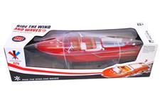 Sportbåt, röd, 48cm, Summertime