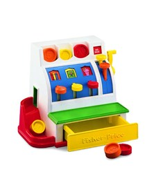 Cash Register, Kassaapparat, Fisher-Price