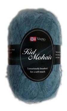 Viking of Norway Kid Mohair 50 gr turkoosi