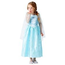 Elsa-klänning med ljus och musik, stl 128, Disney Frost