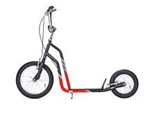 Yedoo City, Sparkesykkel med lufthjul, Svart/Rød