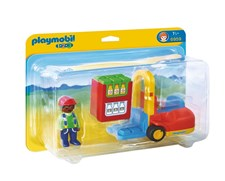1.2.3 Gaffeltruck, Playmobil