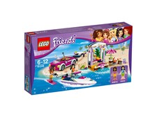 Andreas transportbil för racerbåtar, LEGO Friends (41316)