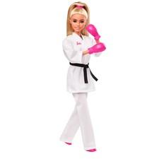 Barbie OL Karate Dukke