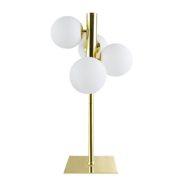 SANDSTEN Bordslampa SANDLYCKAN 24 5 x 24 5 x 45 cm Guld