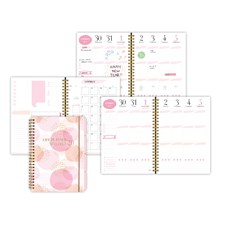 Kalenteri 19/20 Burde Life Planner A5 Pink
