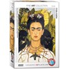Frida Kahlo, Self-Portrait with Thorn Necklace and Hummingbird, Pussel, 1000 bitar, Eurographics