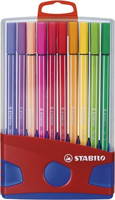 Ritpenna Stabilo Color Parade Pen 68 Multi 20-pack