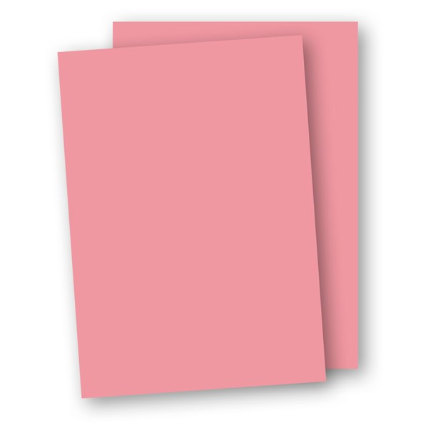 Papper 220g Papperix A4 rosa 5-pack - tjockare papper