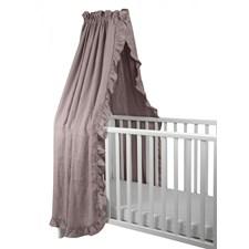Sänghimmel Spjälsäng, Dusty Pink, NG baby