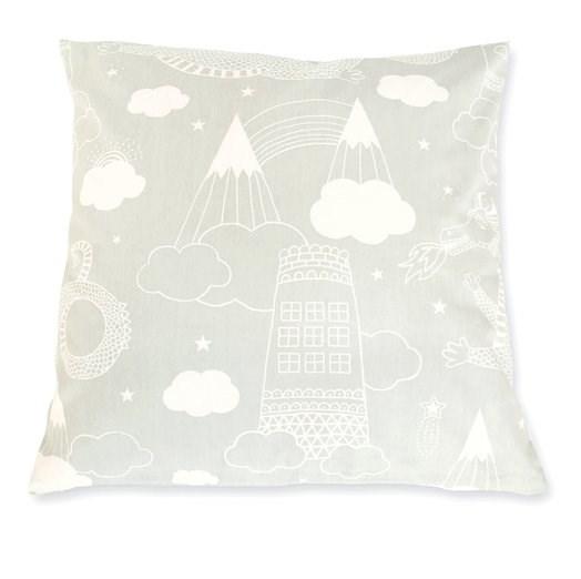 Majvillan Drakhimlen Dekorationskudde Ekologisk Bomull 50x50 cm