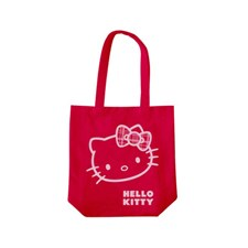 Tygkasse, Röd, Hello Kitty