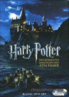 Harry Potter 1-7 Giftset (8-disc)