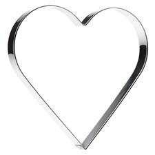 Gastromax Piparkakkumuotti Sydän 20 cm Ruostumatonta Terästä