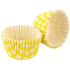Tala Muffinsformar Prickar 32 st Gul