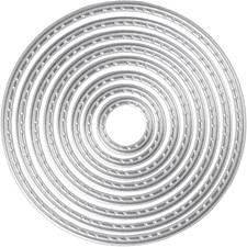 Kuvioterä, halk. 1,5-7 cm, renkaat, 1kpl