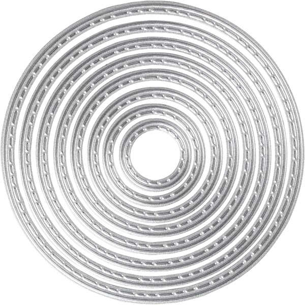 Kuvioterä, halk. 1,5-7,5 cm, renkaat, 1kpl