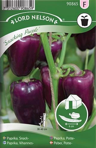 Paprika, Snack-, Snacking Purple