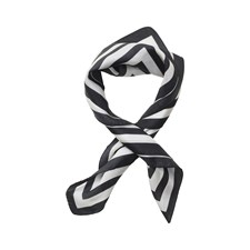 Edblad Square Silk Scarf Off White
