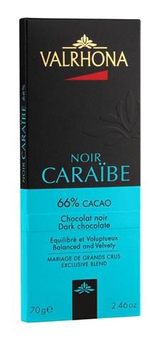 Valrhona Choklad Caraibe 66% 70 g