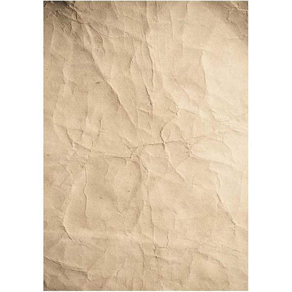 Tryckt Papper A4 Skrynkligt 10 Ark  Paper Concept - tunt papper