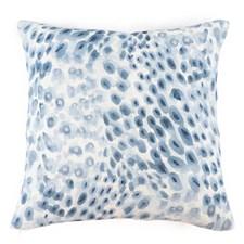 Sköna Hem Feathery Kuddfodral i lin 50x50 cm Blue Sapphire