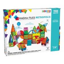 Magna-Tiles Metropolis 110 deler