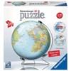 World Globe, 3D Puslespill, 540 brikker, Ravensburger