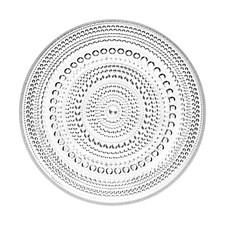 Tallerken, Kastehelmi, 17 cm, Klar, Iittala