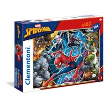Puslespill Maxi Spiderman, 104 brikker, Clementoni