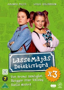 LasseMajas detektivbyrå X3 (3-disc)