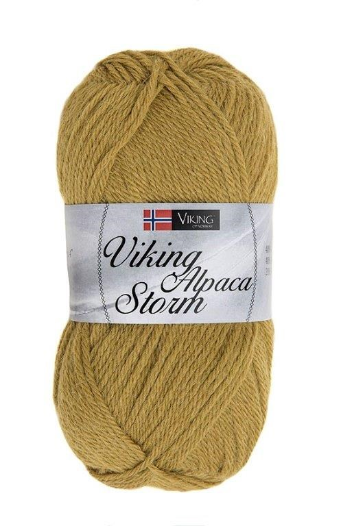Viking of Norway Alpaca Storm Garn Alpackamix 50g Grön 536