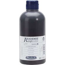Schmincke AKADEMIE® Akrylmaling, 500 ml, lamp black (771)