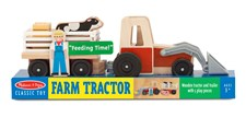 Traktorset i trä, Melissa & Doug