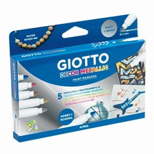 Giotto Decor Metal 5-pack BL