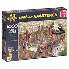 Jan van Haasteren, The Wedding, Puslespill, 1000 brikker