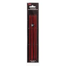 Strømpepinner 20cm/5,50mm Rød