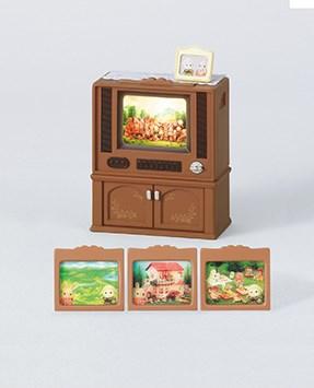 Lyxig färg-tv  Sylvanian Families - figurer & miniatyrer