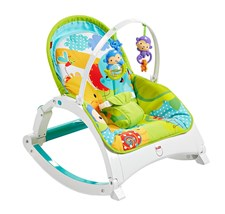 Newborn-to-Toddler Rocker, Rainforest Friends, Fisher-Price