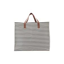 House Doctor Shoppingbag Med Ränder  Bomull/Polyester