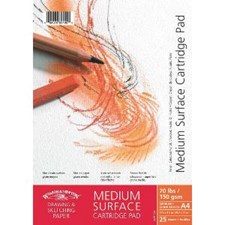 Skisseblokk Cartridge Sketch Pad Winsor & Newton A4 150 g