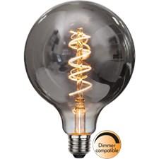 Star Trading LED-Lampa G125 E27 Spiral Smoke