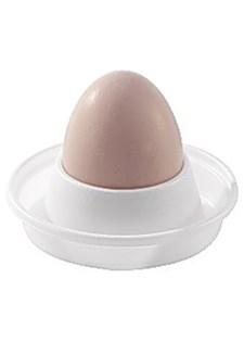Äggkopp i Plast Vit 100 st