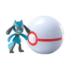 Pokémon, Clip 'n' Carry Ball, Riolu + Poke Ball