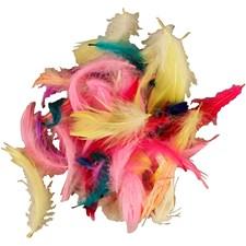 Dun, stl. 7-8 cm, mixade färger, 500g