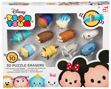 3D Pussel-Suddgummi 10-pack, Disney Tsum Tsum